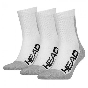 Head Tennis 3P Pefrormance Socks White